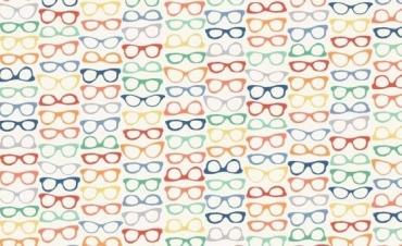 1654-Q lunettew sur fond beige