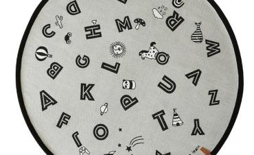 The Alphabet Rug -